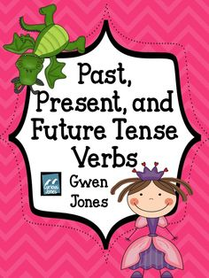 This includes 5 different cut n' sort activities as well as several writing activities. Perfect for a step by step practice of past, present, and future tense verbs.  This includes  Standard Poster  Present vs Past Tense (add -s & -ed)  Present vs. Future (-s add will)  Past, Present, and Future  Only $4.00