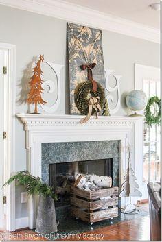 CHRISTMAS 2012: JOY TO THE MANTEL