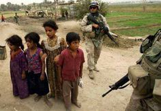 The violence led to extreme hardship for many children in Iraq (BBC, 2007).