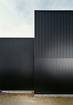 Black facade