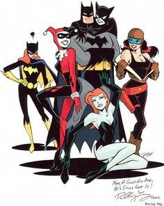 geek, nerd, gotham, batman women, philip moy, batman girl, batman art, superhero, harley quinn