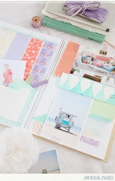 a creative mint - love these mood, color, idea journals!