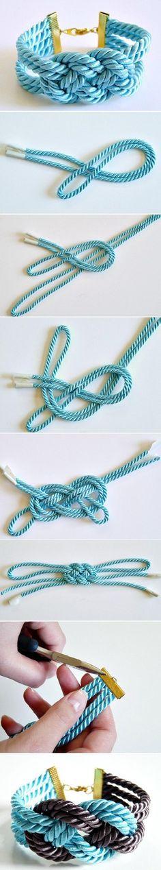 DIY Lovely Thick Bracelet