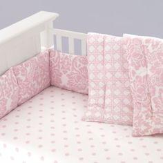 Girl nursery bedding