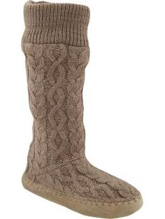 Old Navy sweater knit booties / slippers : $22.94