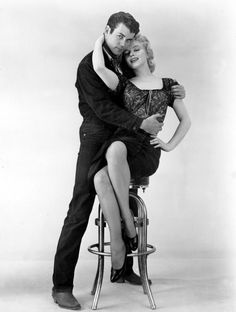 Marilyn Monroe and Don Murray