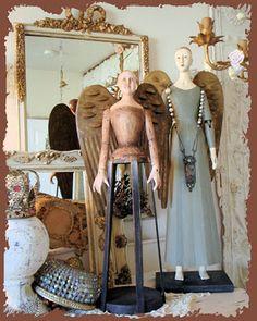 I love French Santos Cage Dolls.