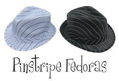 Pinstripe Fedoras  $9