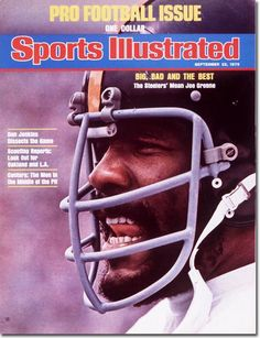 On the Cover: Joe Greene, Football, Pittsburgh Steelers  Photographed by: Neil Leifer