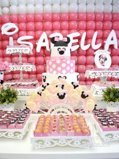 Amazing Minnie Mouse Birthday Party!  See more party ideas at CatchMyParty.com!  #partyideas #minniemouse