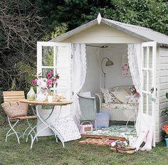 Backyard shed makeover