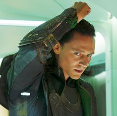 From what I've seen of Loki's Avengers costumes they're similar on what he wore in Thor, but are a lot more lived-in and have better detailing. The Avengers is altogether a bigger movie with high production values, plus the costumes from each of the individual Avengers' own prequel movies presumably had to be tweaked a little in order to mesh the different looks.