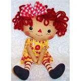 *RAGGEDY ANN ~ Doll Pattern Joy-primitive pattern,prim annie,country patterns ...
