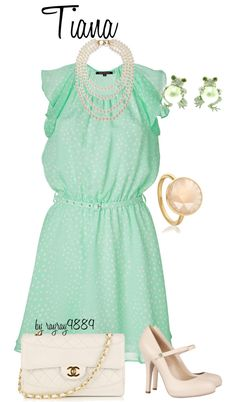 Tiana, created by raven-ferrel on Polyvore