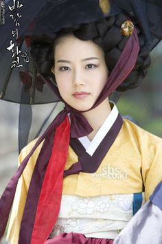 Gisaeng in Hanbok - Korea