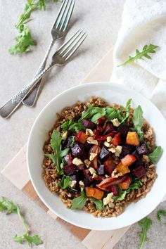 Farro Meal Bowls wit