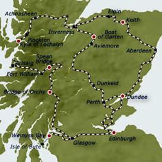 The Royal Scotsman - Grand North Western Tour