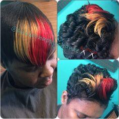 Custom Color @scissorhappychante - http://www.blackhairinformation.com/community/hairstyle-gallery/relaxed-hairstyles/custom-color-scissorhappychante/ #customcolor #haircolor