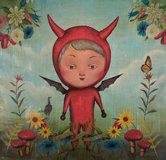 El Diablo Santo  I just think this is cute