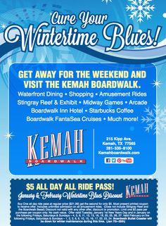 Kemah boardwalk discounts coupons