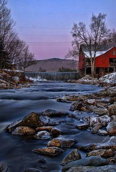 Weston Grist Mill---Weston, VT