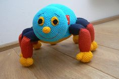 cute crochet bug (Pattern from a foreign site $$)