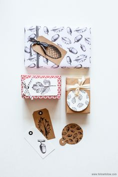 Free Printable: Christmas gift tags
