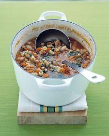Bean & Pasta Soup - Martha Stewart Recipe