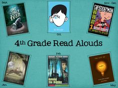4th grade read-alouds list