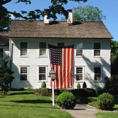 white houses, flag, allamerican