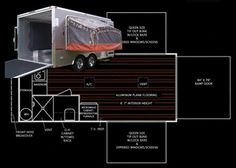 Utility trailer conversion