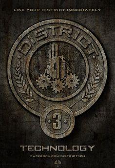 District 3 #HungerGames