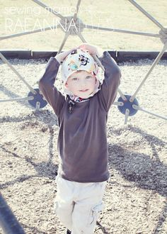 How to Add a Warm Cuddle™ Hood to Any Shirt by @Sewing Mama RaeAnna