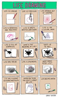 What you can learn about life through drawing. (By Incidental Comics)