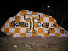 """The Rock"" at #Tennessee"