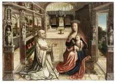 The Lactation of Saint Bernard of Clairvaux - 1525 - 1540