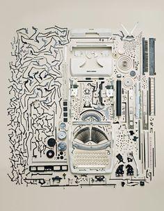toddmclellan, art, inspir, disassembl, todd mclellan, design, thing, photographi, typewriters