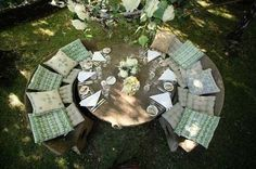 perfect outdoor table