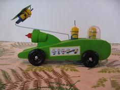 Minion Pinewood Derby Car