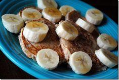Greek yogurt oatmeal pancakes