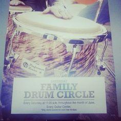 Guitar Center is having Drum Circle Saturday free... | Drums/Social Media/Tattoos Drum.Life.USA