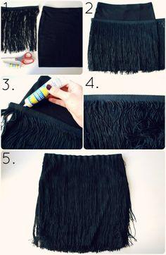 Flapper skirt