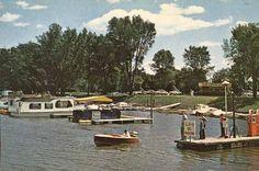 Boat harbor and marina, Winona, Minnesota, 1958 www.visitwinona.com
