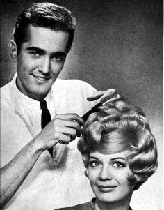 Beautiful 60's hair style