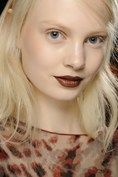 3.1 Phillip Lim gave us a russet hued lip and a flawless complexion