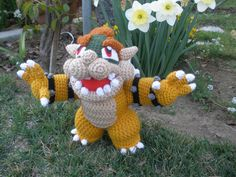 Crocheted Bowser 2 by *aphid777 on deviantART
