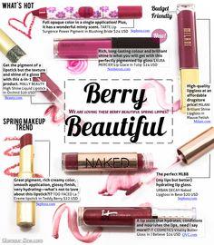 berri lip, makeup, lips, pretti, berries