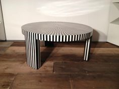 Large Black & White Coffee Table $349
