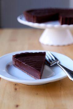 chocolate truffle tart by annieseats, via Flickr