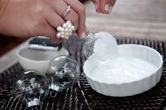 Holiday DIY: Icy Snowball Ornaments